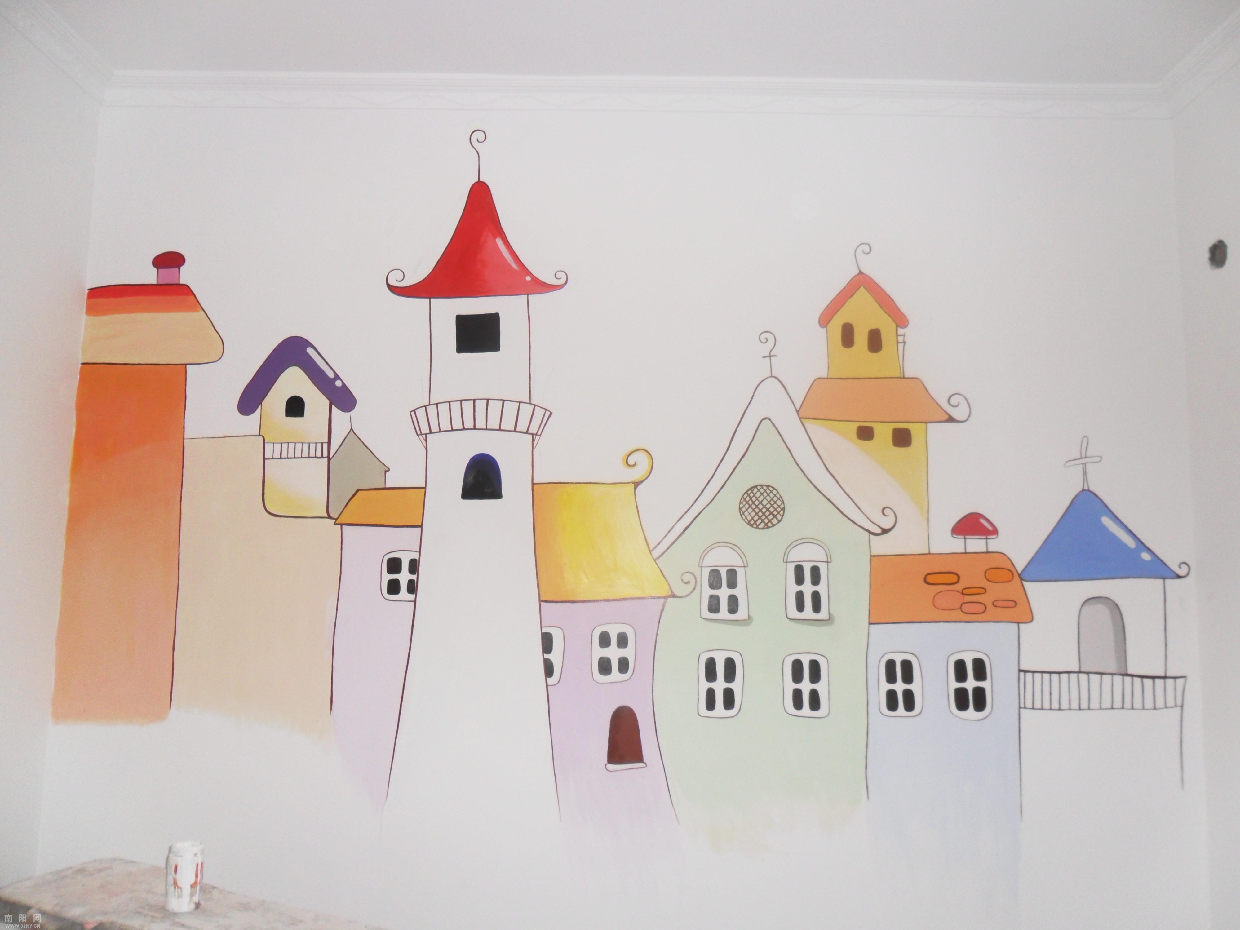 相册: 手绘墙