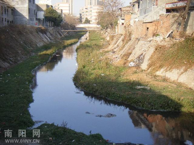 """南阳城区内河现状及管理之""""梅溪河篇"""""""