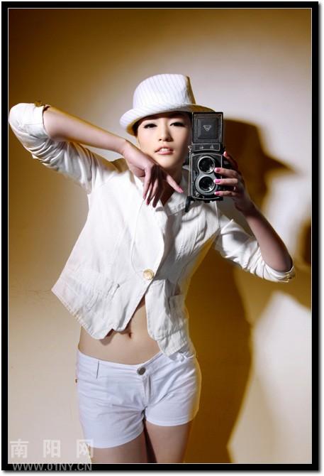 拳打造中国模特