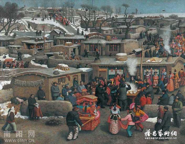 第十一届全国美展获奖油画作品图片
