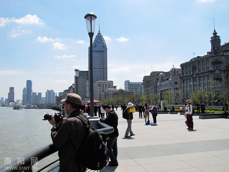 上海外滩老建筑-行摄风光-南阳网