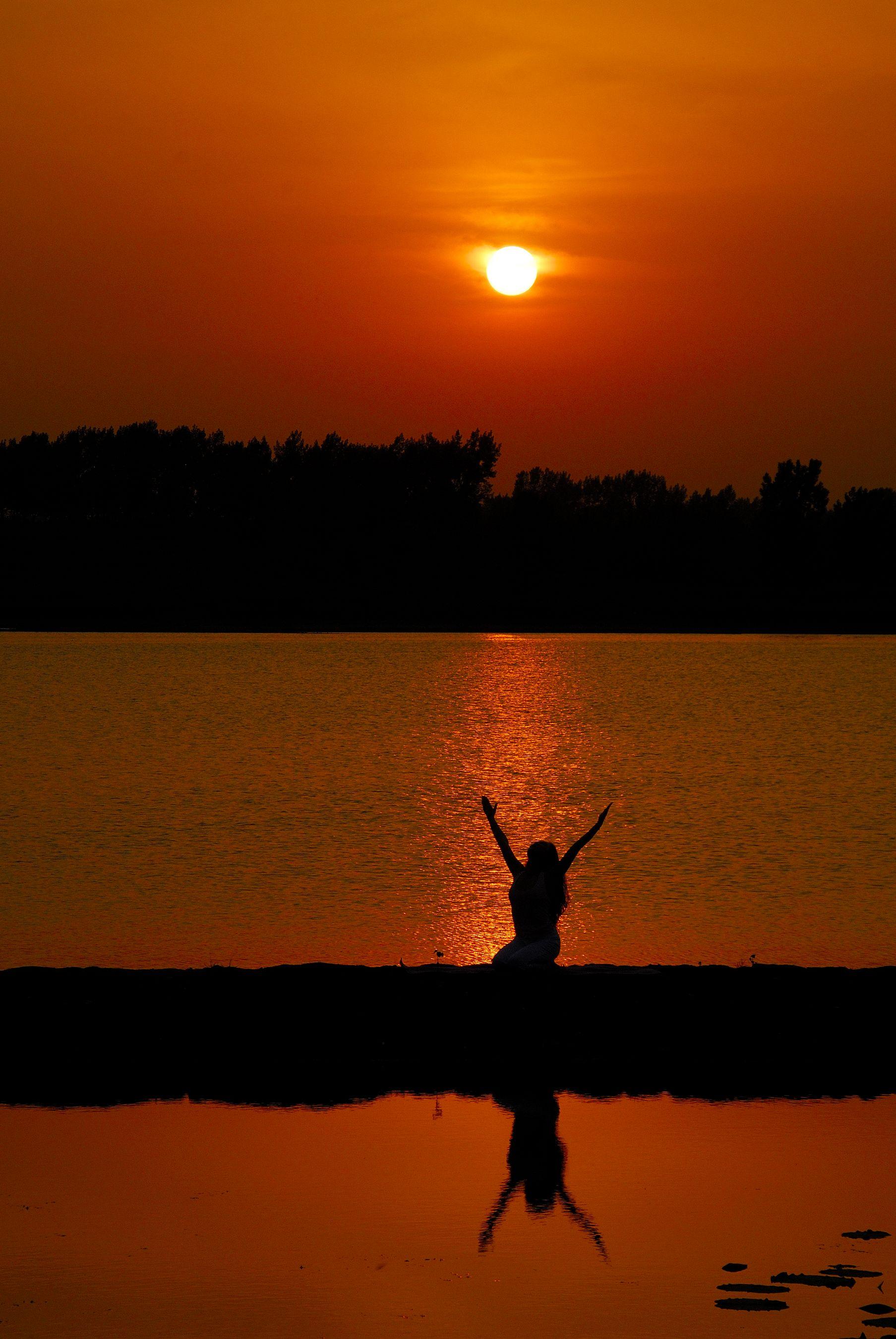 天地靈氣-----瑜伽圖片