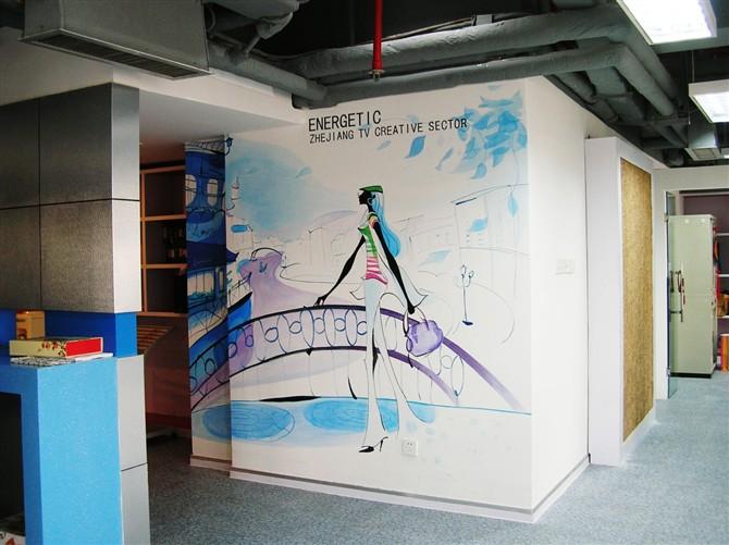 69 南阳家居 69 8090原创手绘工作室零利润征集商铺手绘墙 让您的