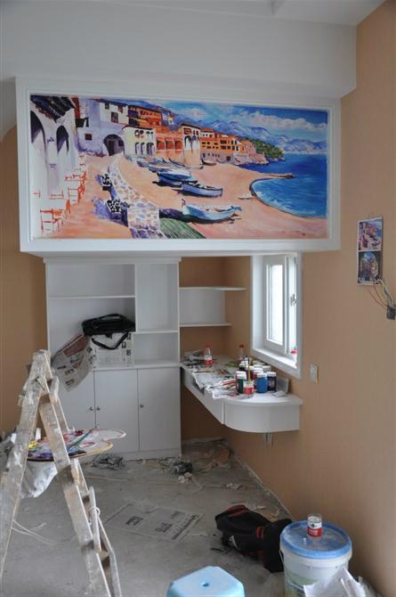 南阳8090原创手绘工作室精心打造单身公寓案例