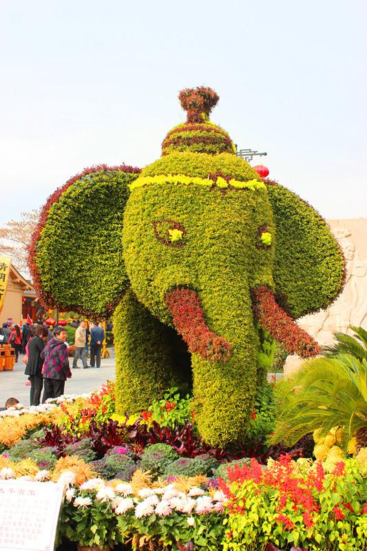 清明上河园---动物造型---大象1.jpg