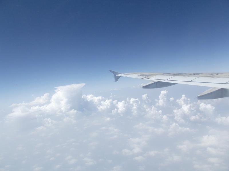 飞机上拍摄---天空