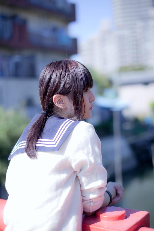 日本可爱的校服美女