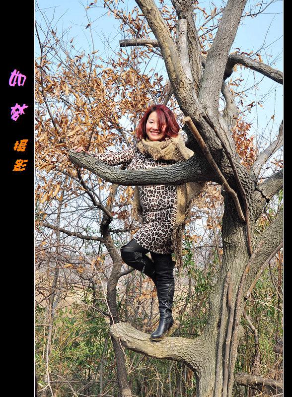 【桐柏部吴湾v美女】冬日山间美女(八)空手道美女图片