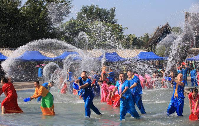 版纳傣族 泼水节 纪实民俗
