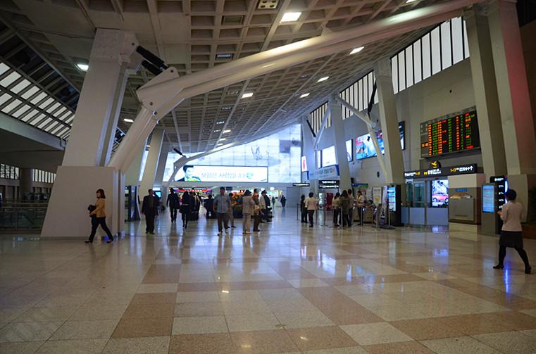 【韩国采风】首尔飞机场