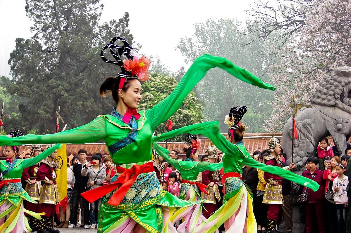 第30届中国洛阳牡丹文化节 王成公园开园仪式