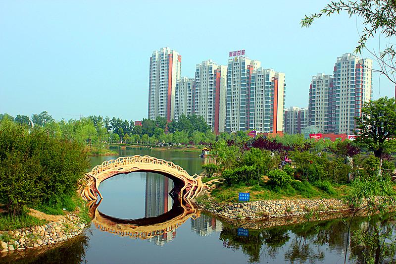 邓州人民公园风景