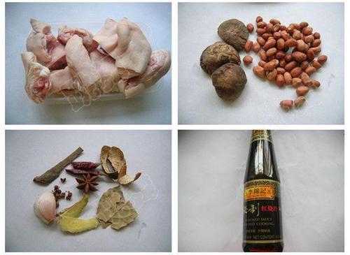 红香猪蹄的做法 电压力锅图解菜谱