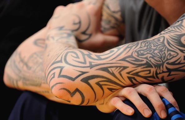 金钱标志纹身图案手稿分享展示