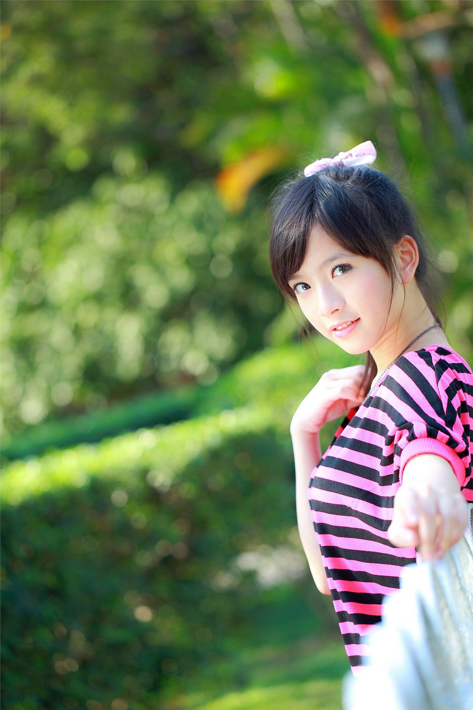 台湾麻豆美女小敬清纯可爱写真《五》