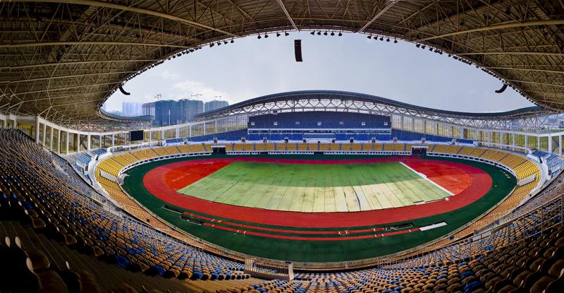 米标准跑道和标准足球场