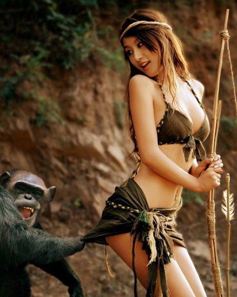 _喜欢非礼美女的好色动物