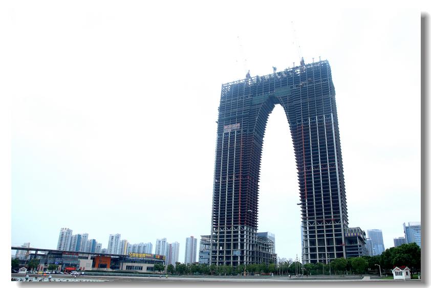 【城市新地标】苏州-----东方之门