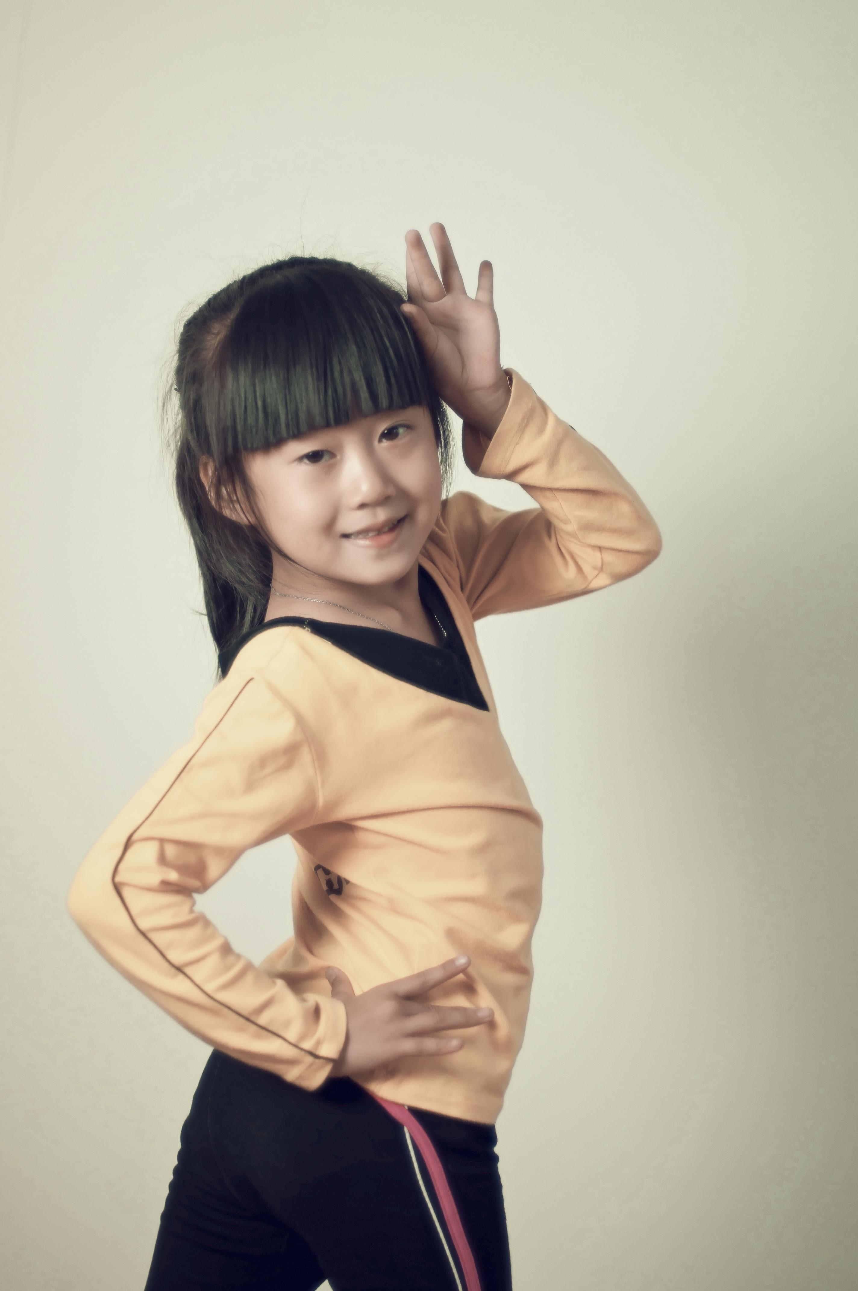 李娅舞蹈班的可爱孩子们