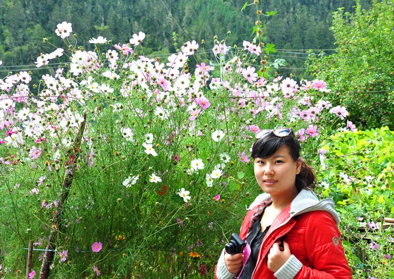shengbangmeinu_美女与鲜花