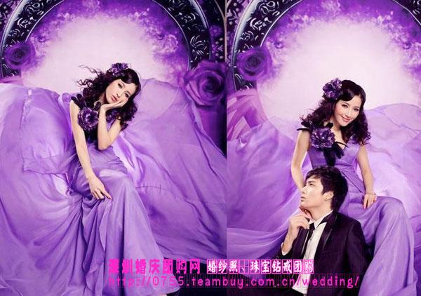 69 【情感婚姻】 69 晒婚纱照 69 紫色恋人(2)