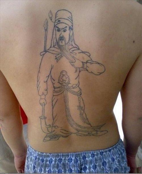 q版动物纹身图案