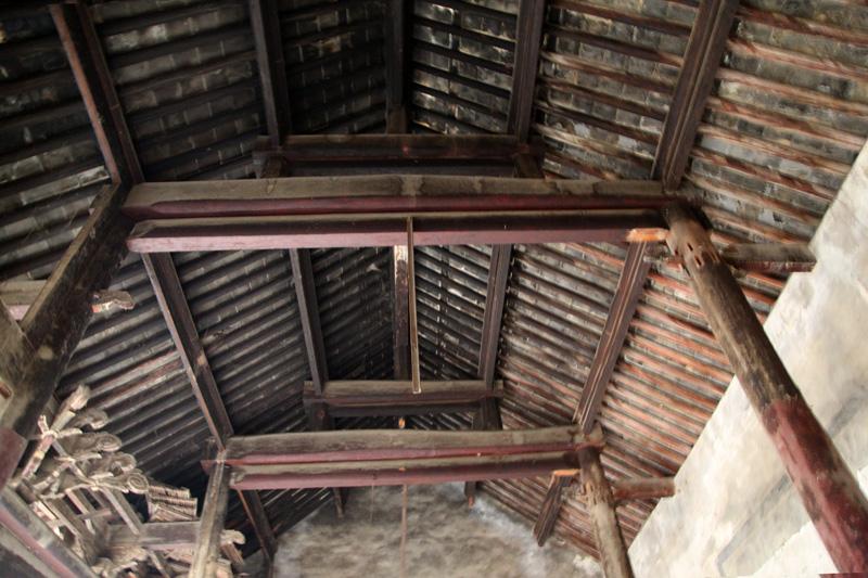 三皇庙古建筑木结构雕刻艺术