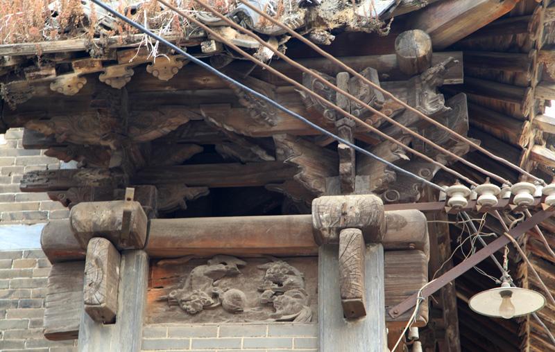 三皇庙古建筑木结构雕刻艺术-大河论坛