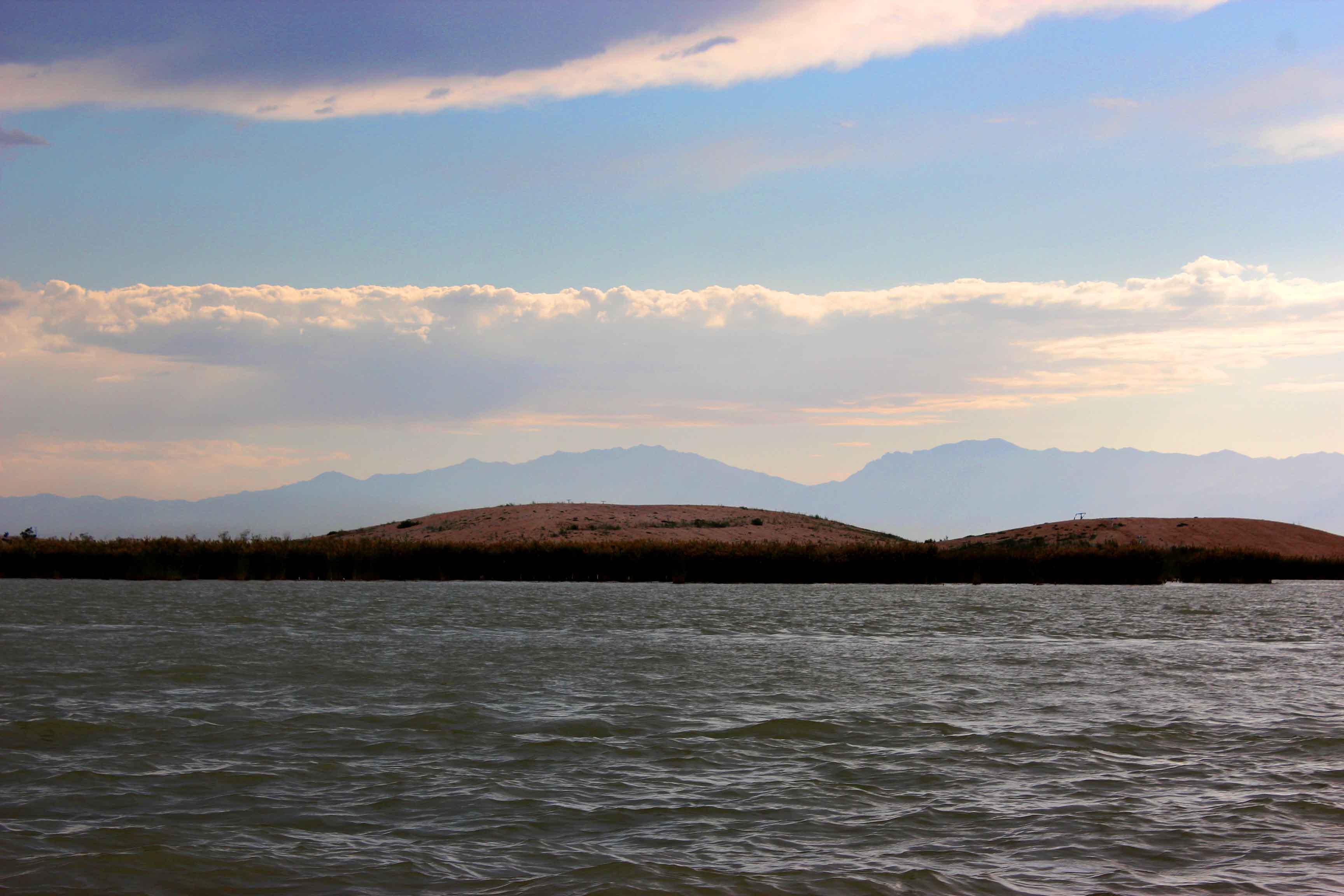 宁夏沙湖风光3高清图片