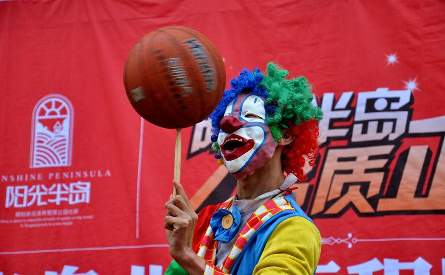 3.17日桐柏部阳光半岛拍摄活动--小丑