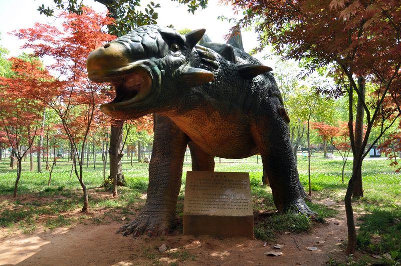 红果树艺术幼儿园春游中国西峡恐龙园召集