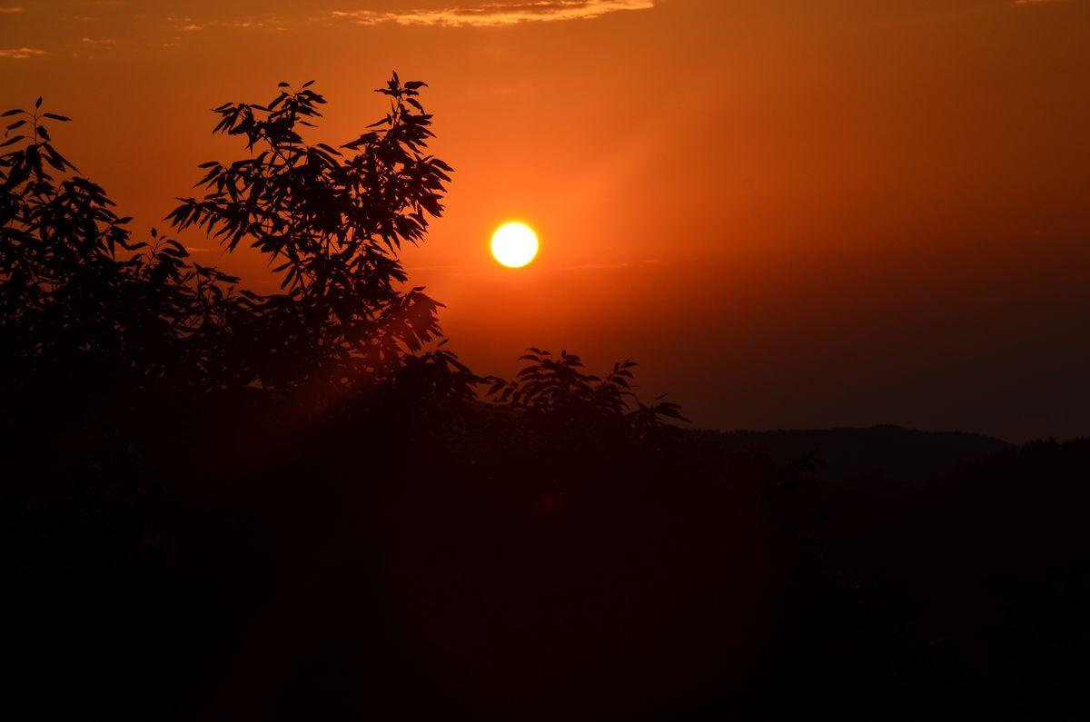 美丽淅川—日出日落