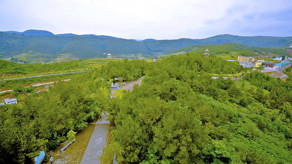 淅川行-丹阳楼上远眺大观园