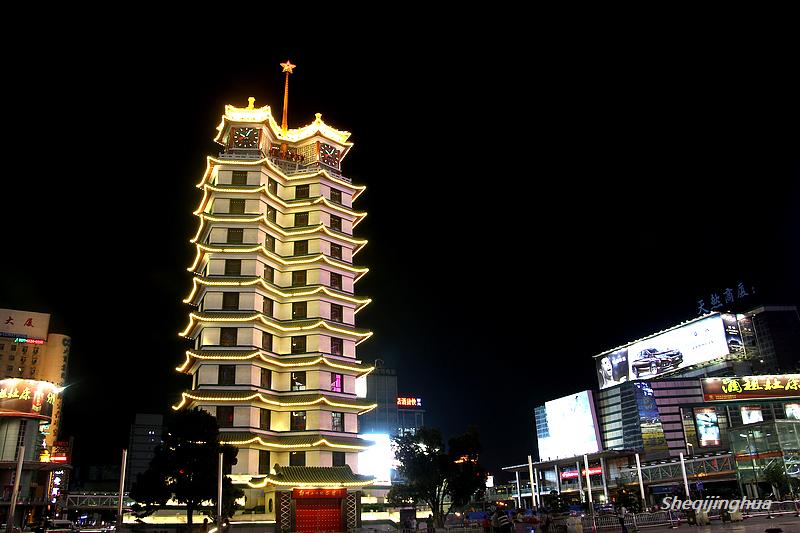 二七纪念塔夜景-拍客贴图-36行南阳社区-bbs.01ny