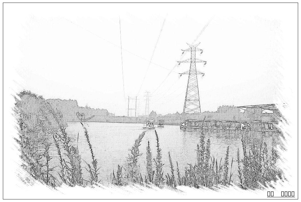 如何用铅笔画风景画_绘画分享