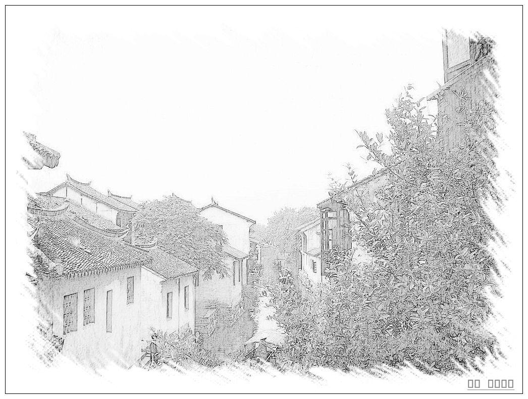 简笔画 手绘 素描 线稿 1046_790