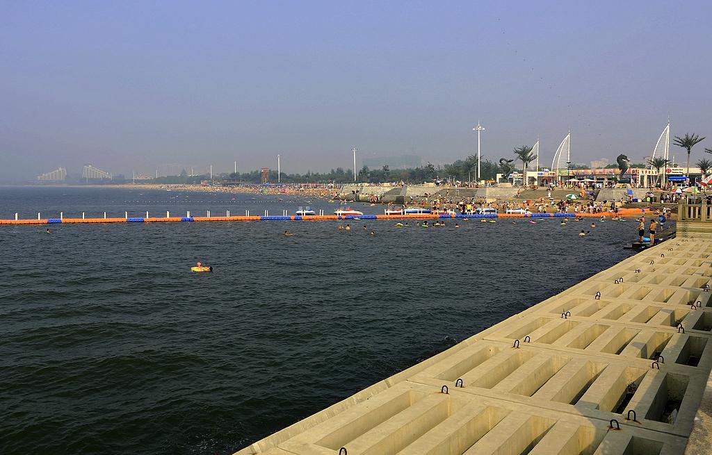 营口鲅鱼圈海滨浴场
