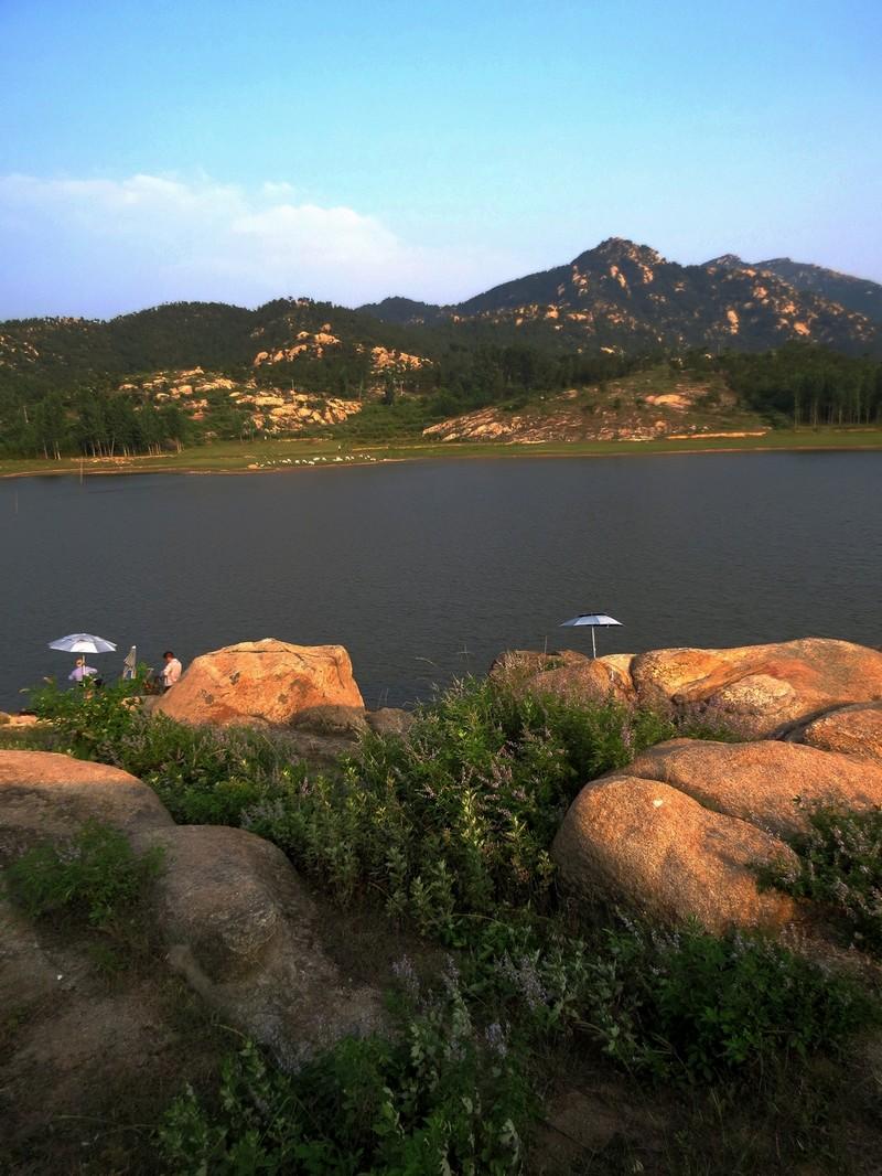 唐河石柱山--龙宫河水库风景