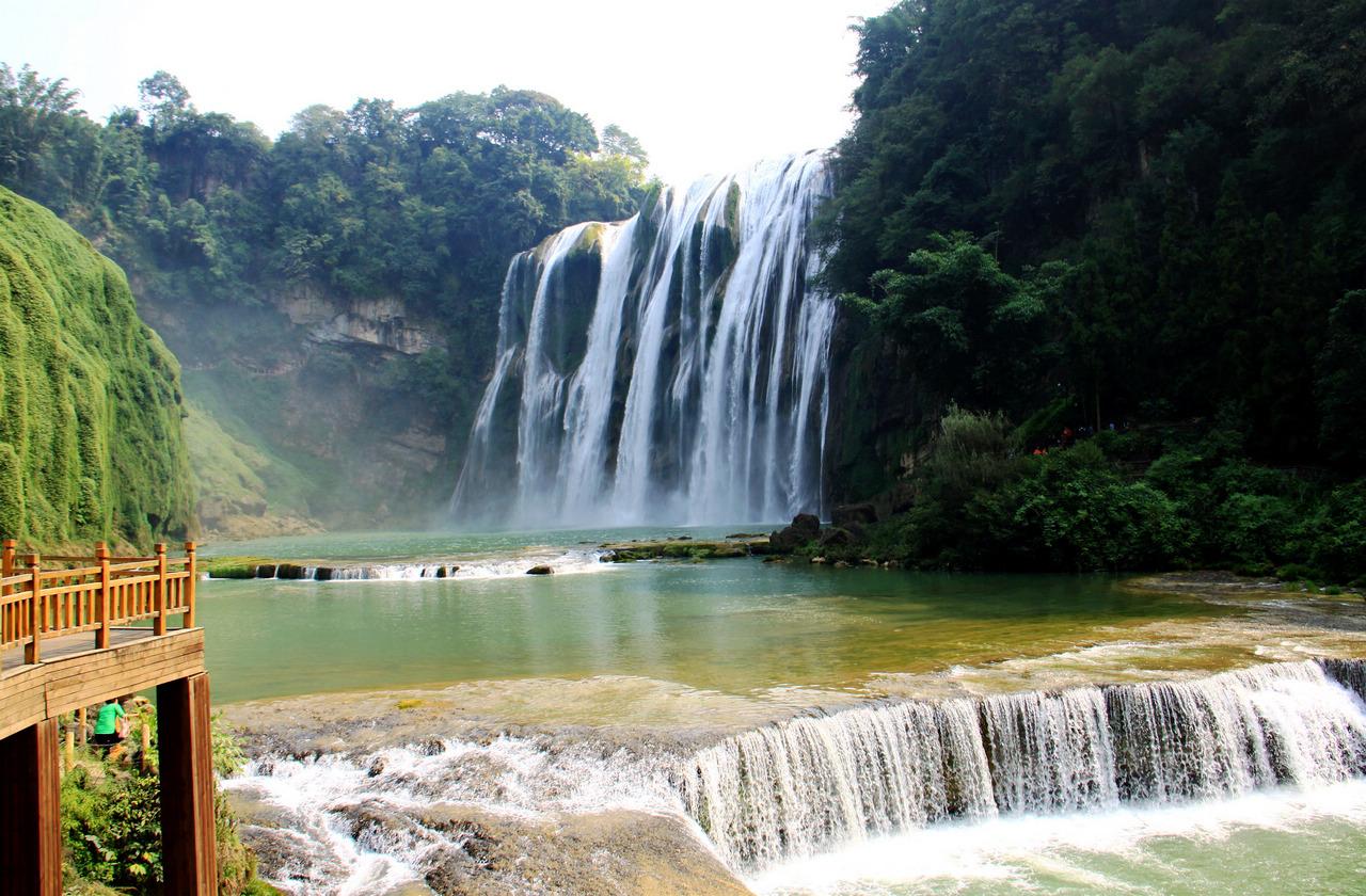 多彩贵州—黄果树瀑布