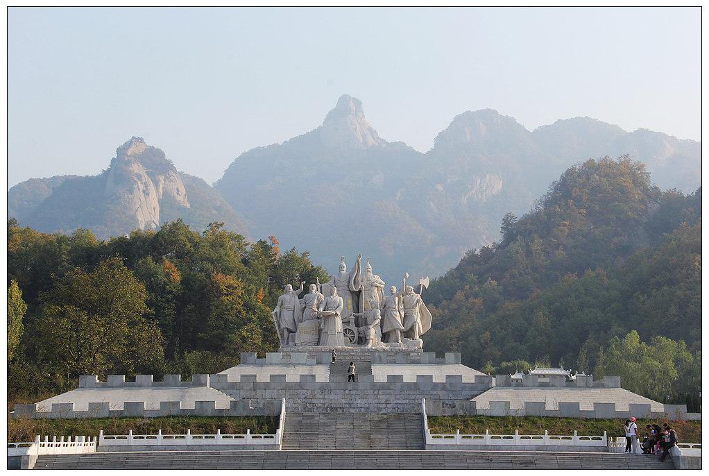 2013年重阳节鲁山部走进汝阳西泰山景区采风-行摄风光