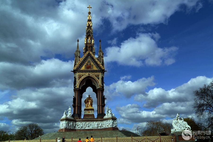 伦敦皇家阿尔伯特纪念碑