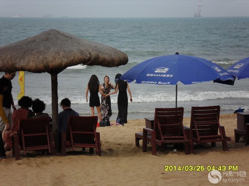 """海南岛海口 """"假日海滩""""-行摄风光-36行南阳社区-36."""