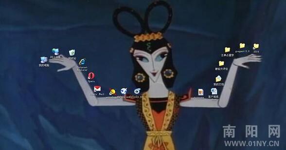 葫芦娃大战蛇精病的电脑桌面