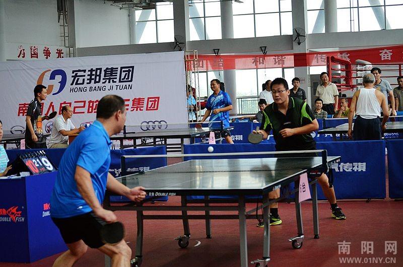 广汽传祺杯南阳市第四届乒乓球游泳在手机中体育比赛手柄图片