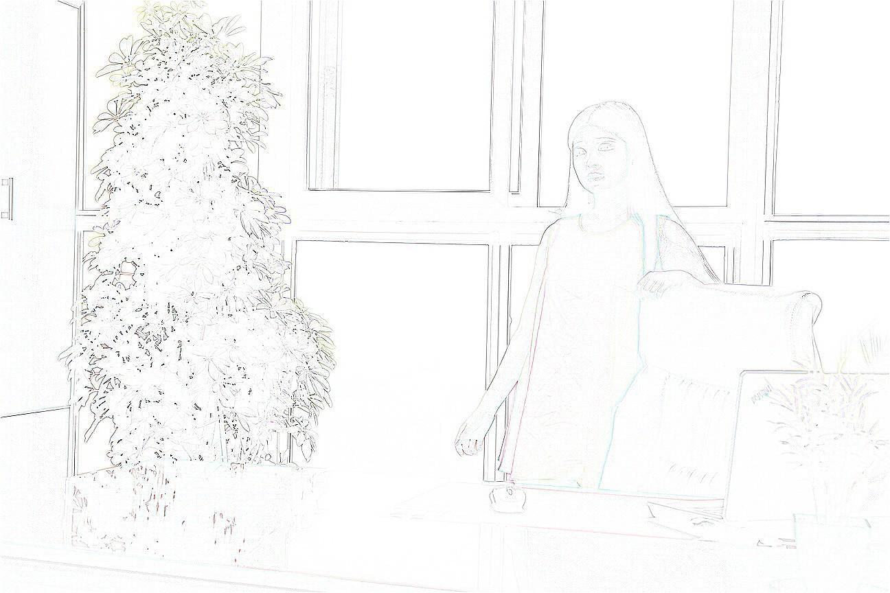 户型 户型图 简笔画 平面图 手绘 线稿 1296_864