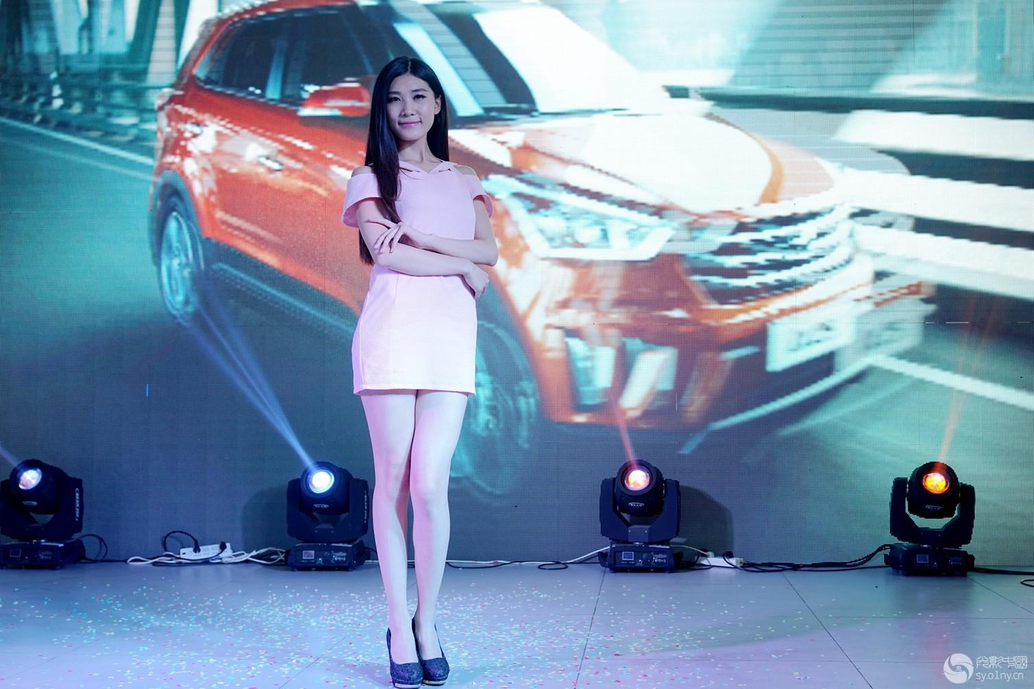 北京现代ix25车模