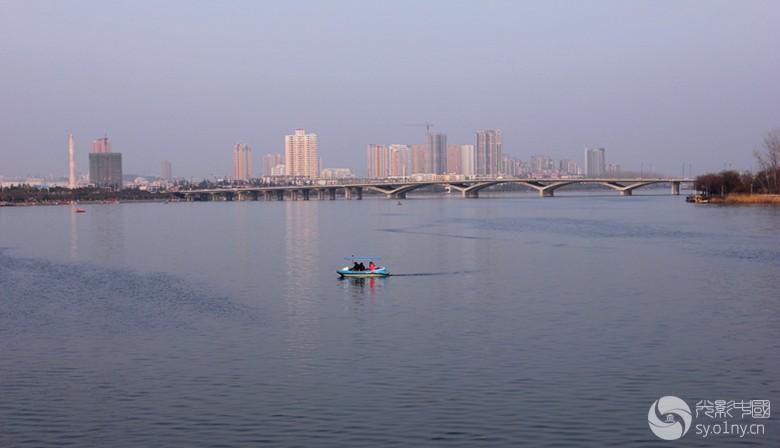 南阳白河两岸随拍