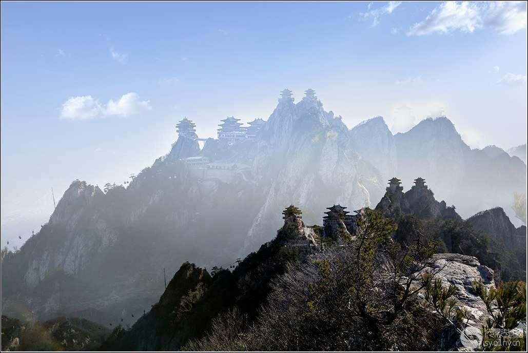新津宝君山森林公园