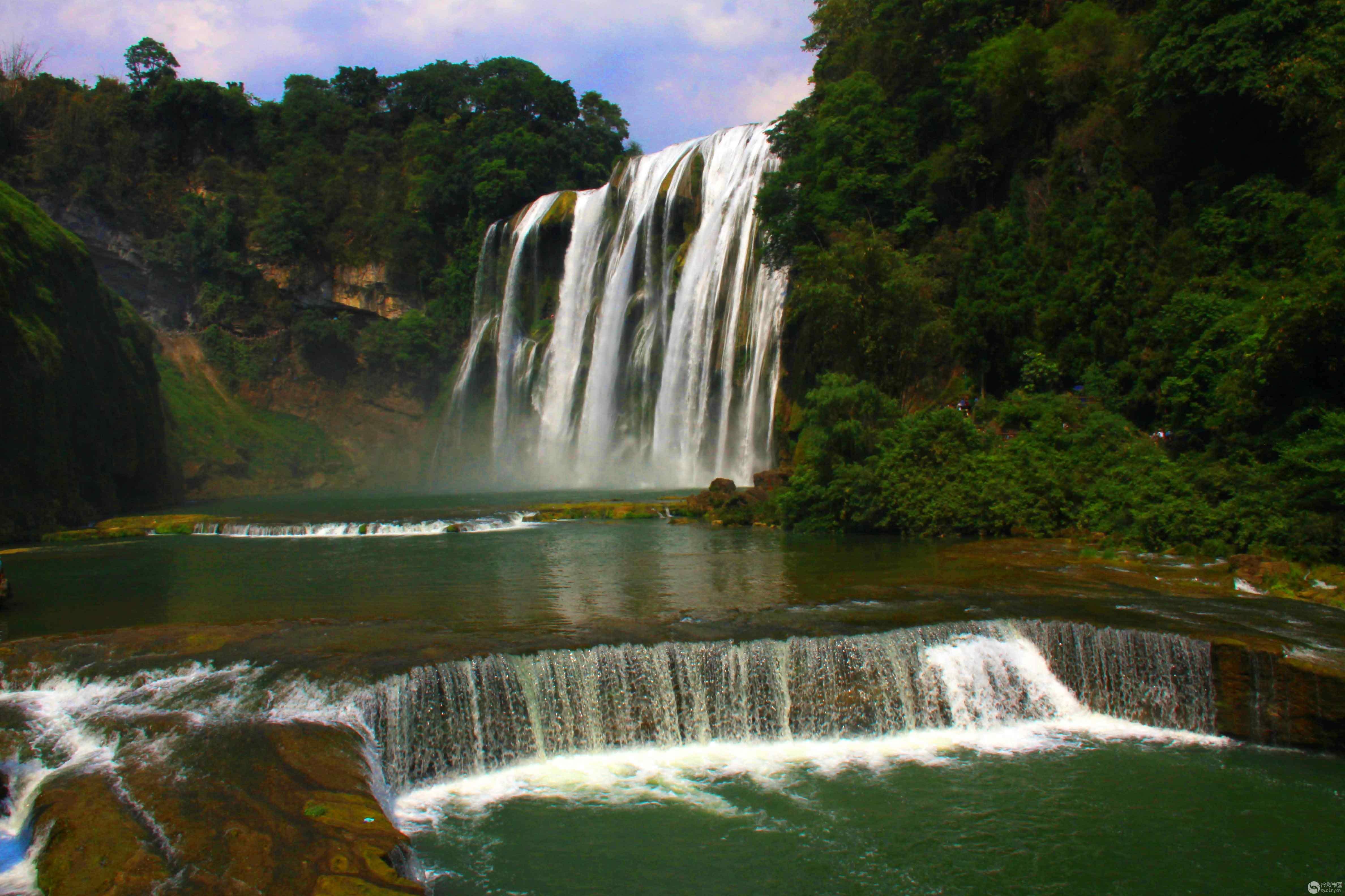 壁纸 风景 旅游 瀑布 山水 桌面 4752_3168