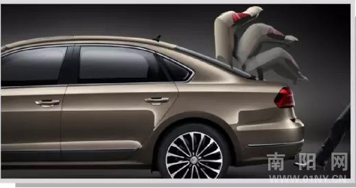 在全新帕萨特上,无论是特制前后防撞钢梁,高强度车身结构,热成型a/b柱